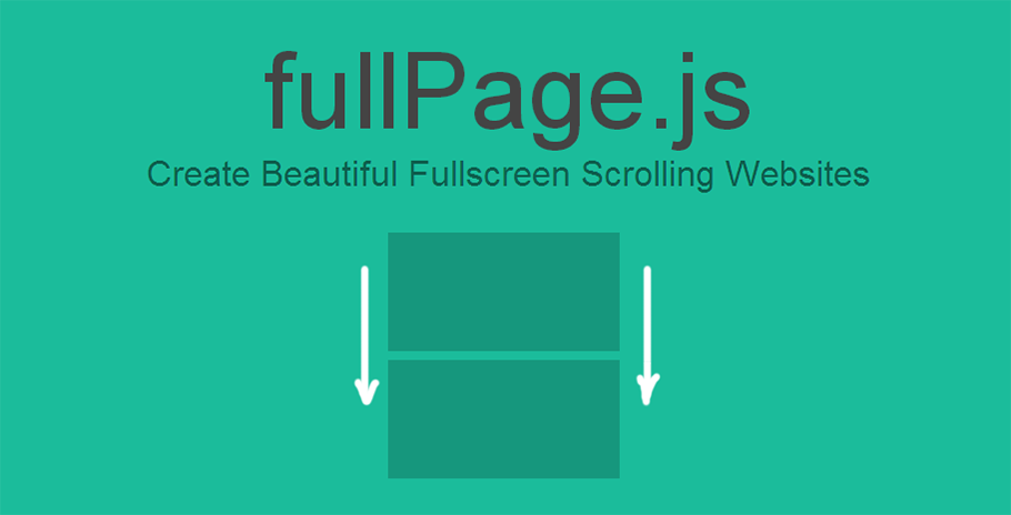 fullPage js | One Page Scroll sections Site Plugin